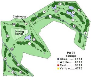 Lander Golf Course new map