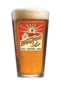 Brewfest logo on pint glass